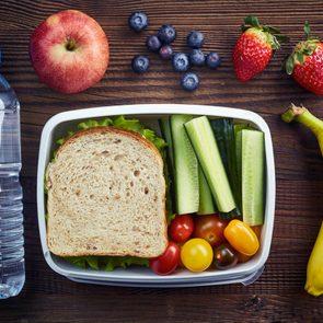 25 idées de recettes pour boîte à lunch.
