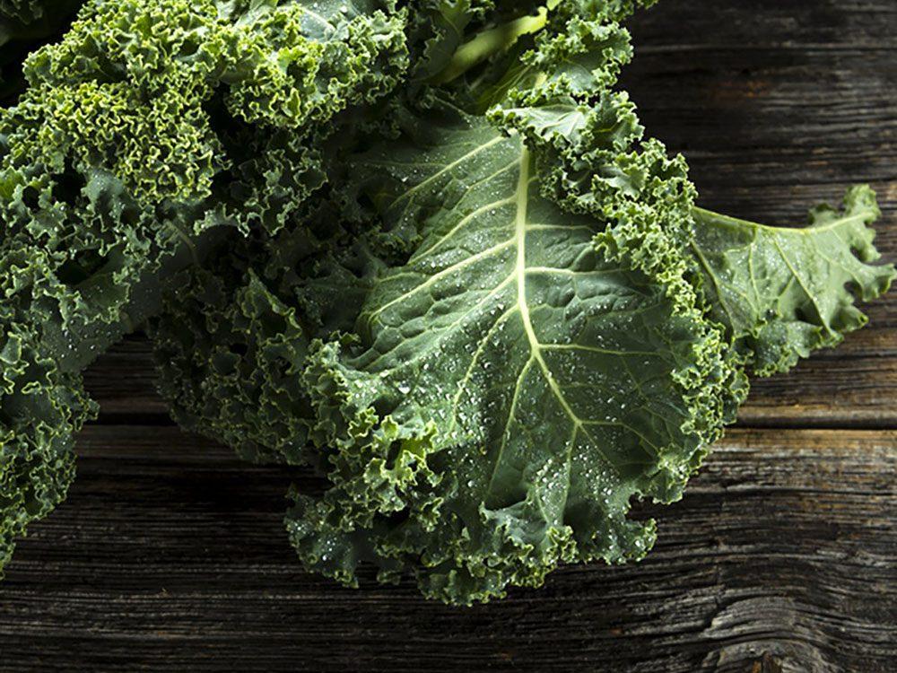 Les légumes-feuilles sont une autre excellente source de calcium.