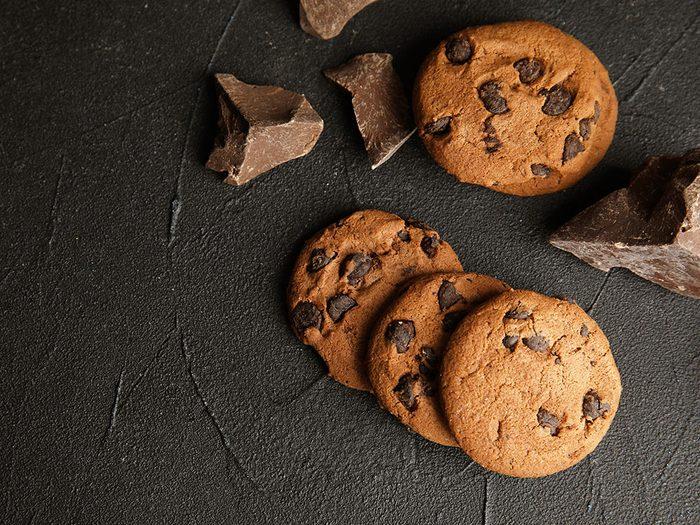 On vous déconseille les biscuits géants de chez Costco.