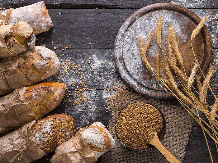 On vous recommande les pains de grains entiers de chez Costco.