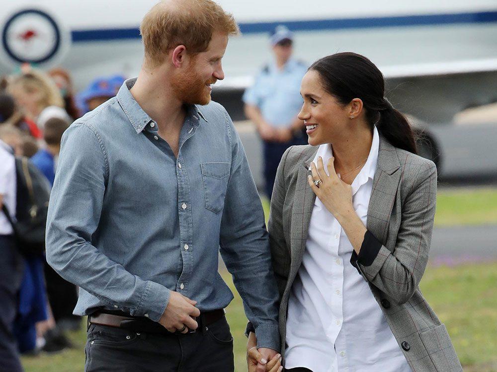 Meghan Markle est partie en Afrique avec le prince Harry et Archie.