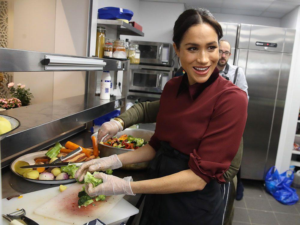 Meghan Markle est une gastronome.