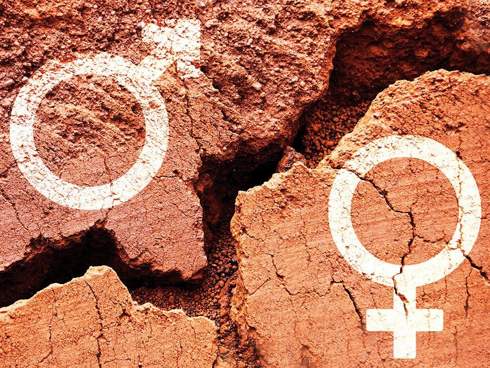 Douleur des femmes: les femmes sont de quatre à neuf fois plus susceptibles de souffrir de fibromyalgie.