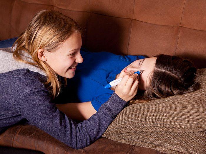 Vous faisiez certaines choses juste pour ennuyer votre soeur.