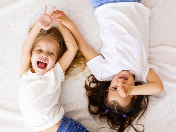 Avec votre soeur, toutes les nuits étaient des soirées pyjama.