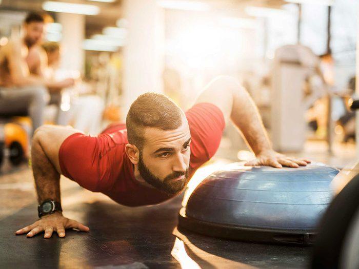 C'est un mensonge quand vous dites que vous faites tout le temps de l'exercice.