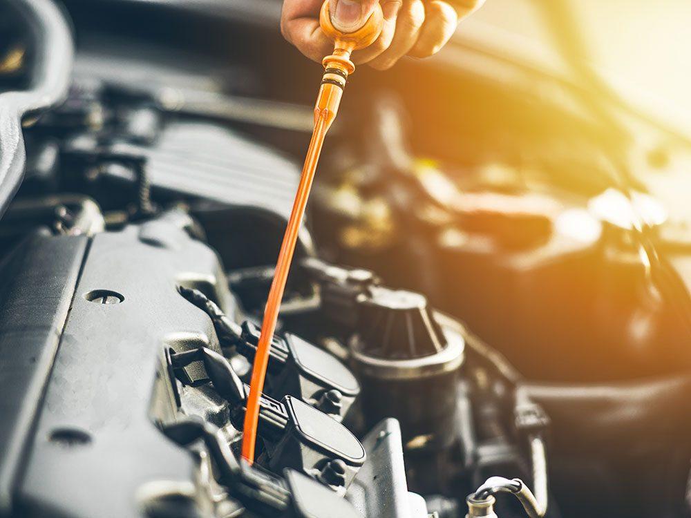 Une voiture maintenue en bon état mécanique consomme beaucoup moins.