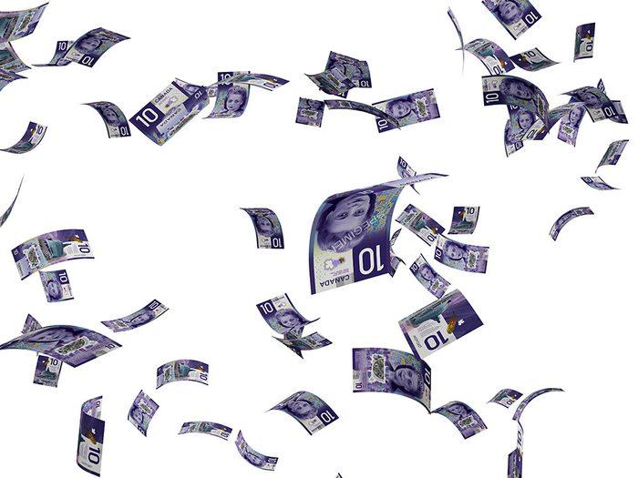 Si vous avez l'habitude de ne pas dépenser ou placer l'argent tombé du ciel, vous avez peut-être tord...