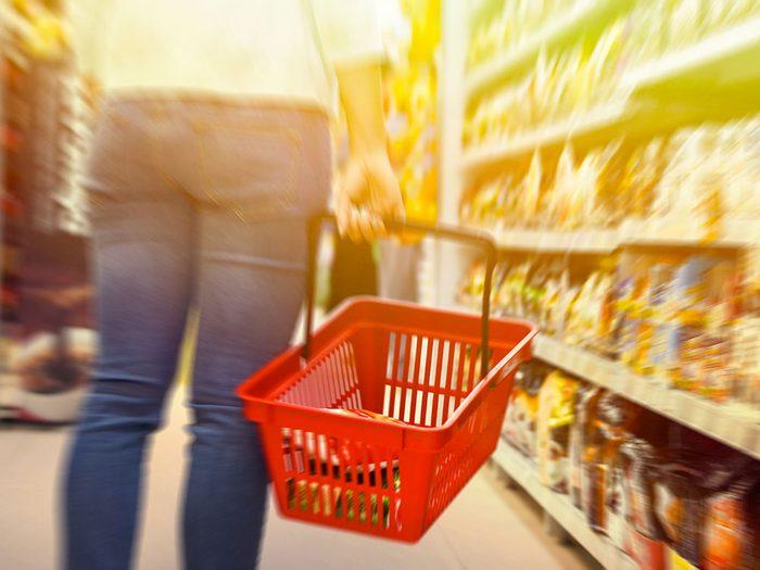 Il est trop facile de remplir votre panier d'objets qui n'étaient pas sur votre liste d'achats à faire.