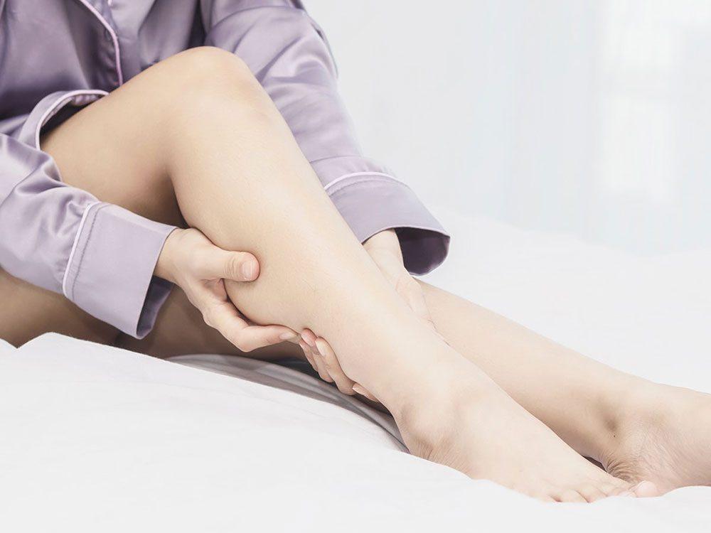 Vous manquez de calcium si vous avez souvent des crampes musculaires.