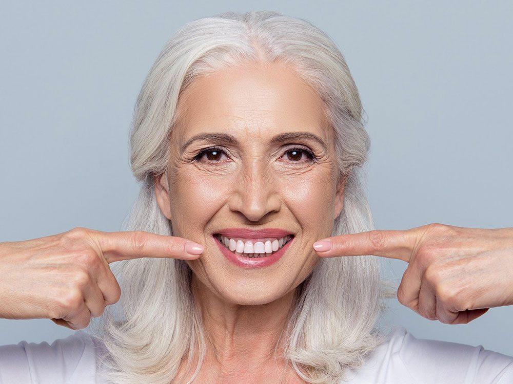 Vous manquez de calcium si vos dents souffrent.