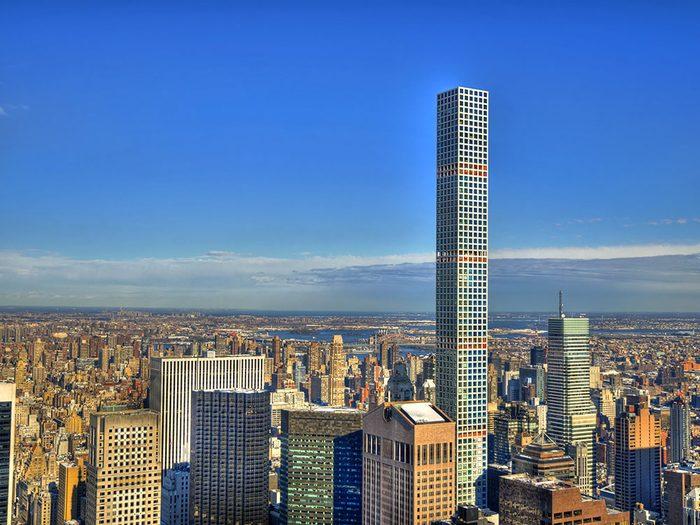 Le 432 Park Avenue est l'un des plus hauts gratte-ciels du monde .