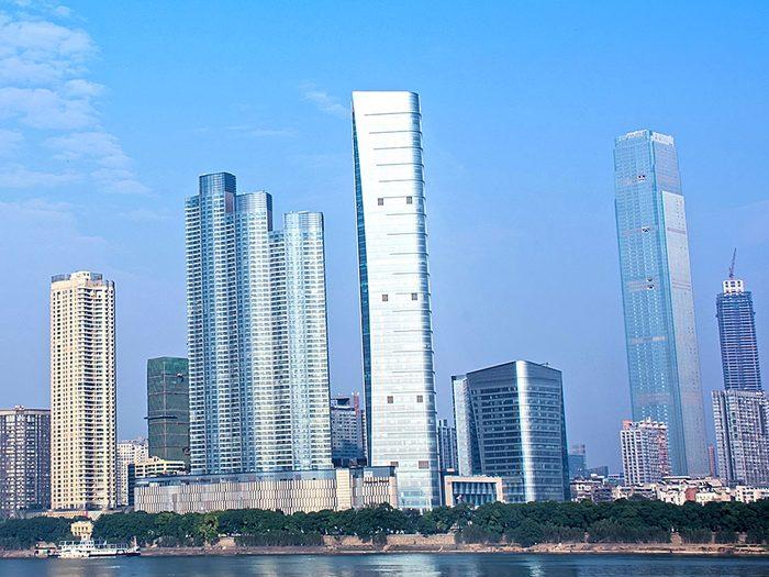 La Changsha IFS Tower T1 est l'un des plus hauts gratte-ciels du monde .