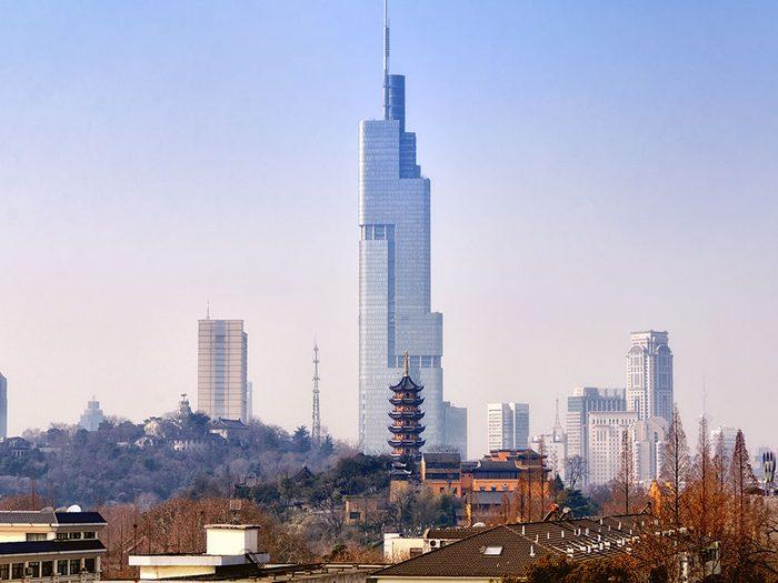 La Zifeng Tower est l'un des plus hauts gratte-ciels du monde .