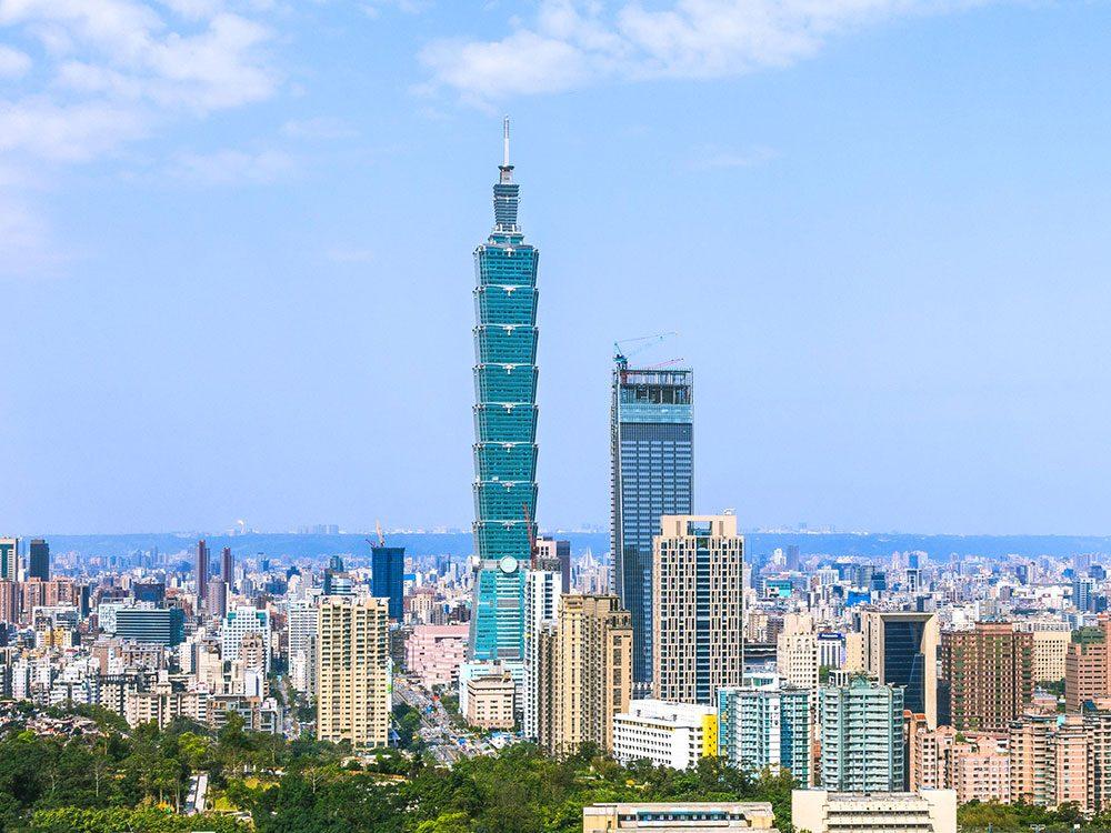 Taipei 101 est l'un des plus hauts gratte-ciels du monde .