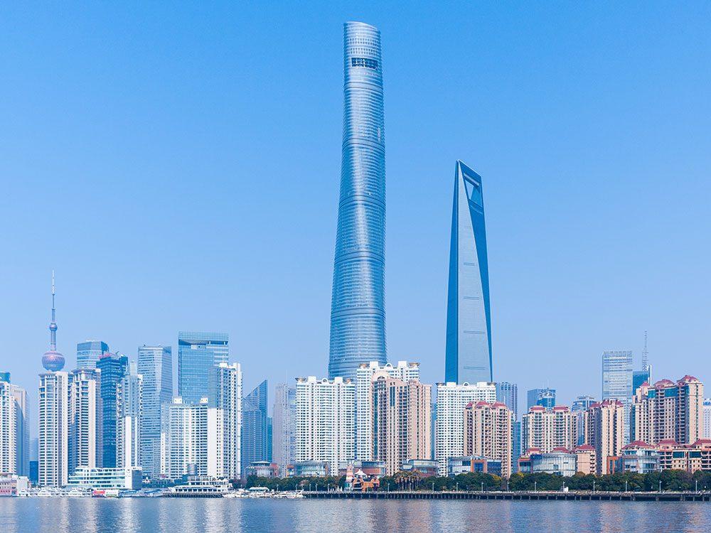 La Tour Shanghai est l'un des plus hauts gratte-ciels du monde .