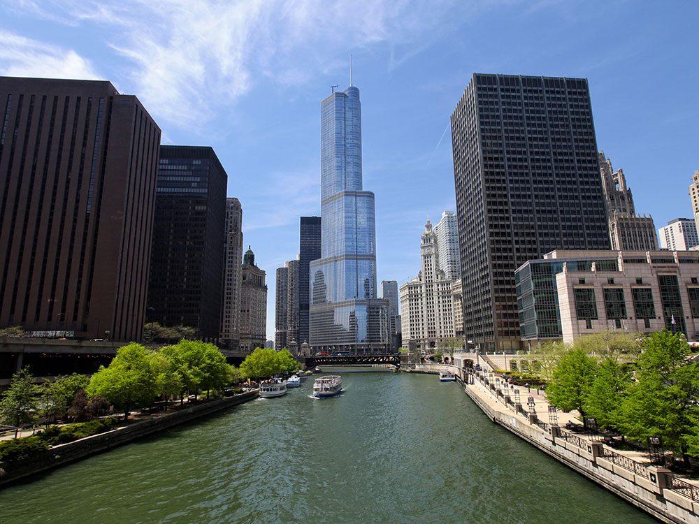 La Trump International Hotel and Tower est l'un des plus hauts gratte-ciels du monde .