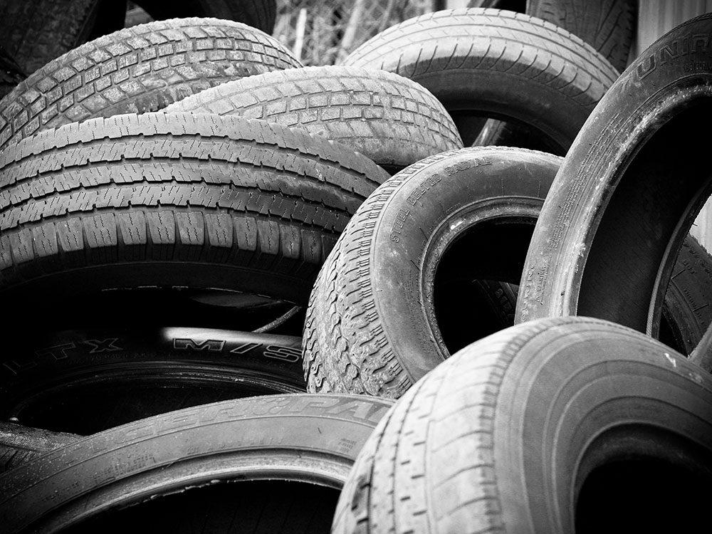 Des pneus sous-gonflés augmentent la consommation des véhicules.