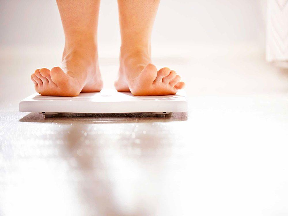 Vous affirmez n'avoir jamais souffert de troubles alimentaires? C'est un mensonge.