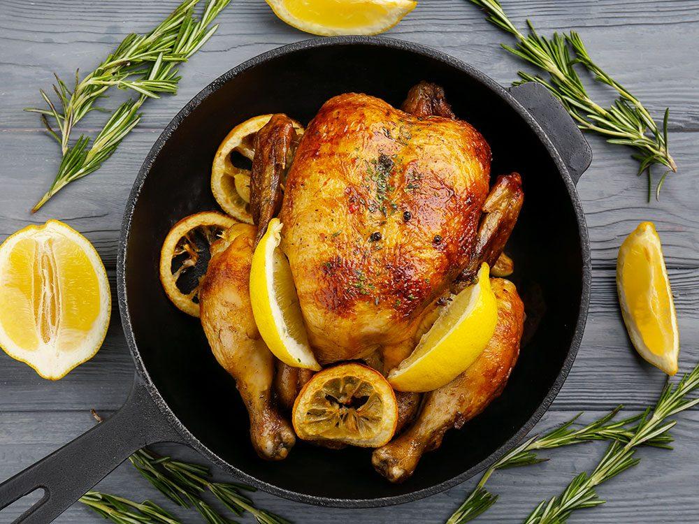 Meghan Markle a cuisiné un «poulet de fiançailles».