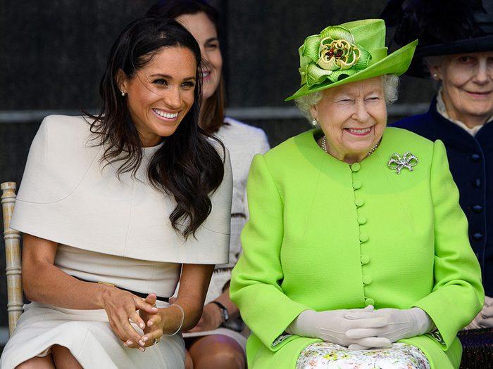 Meghan Markle célèbre son anniversaire avec la reine.