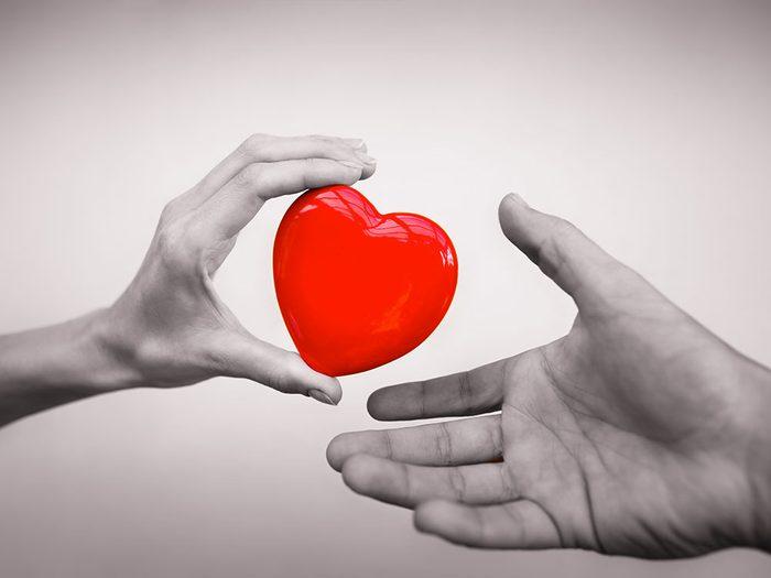 Lors d'une prochaine conversation avec votre famille, parler-leurs de sujets importants tels que le don d'organes.