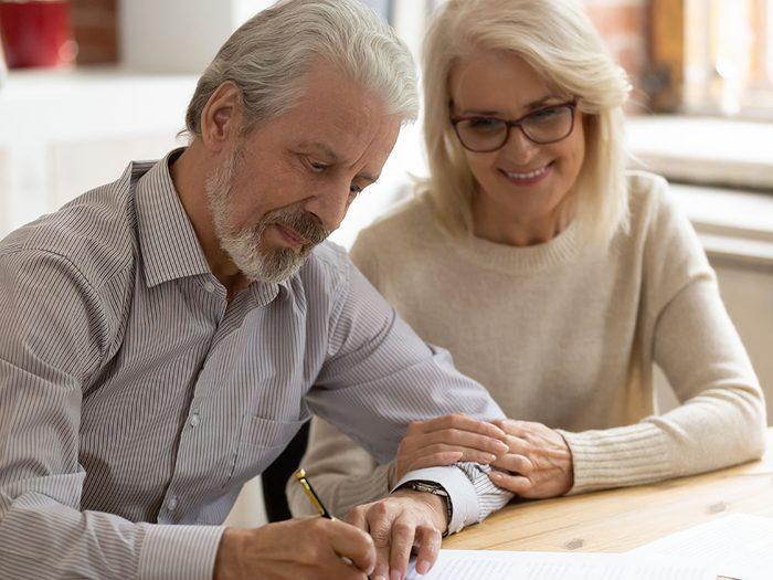 Parlez de votre testament et votre succession car ce sont des sujets importants.