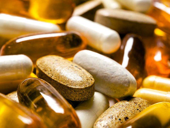 Dire à votre médecin que vous ne prenez que des vitamines est un mensonge.