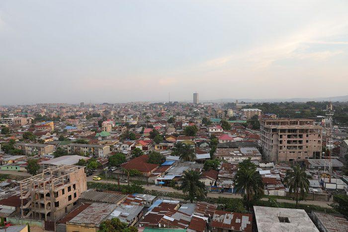 Villes peuplées: Kinshasa, république du Congo