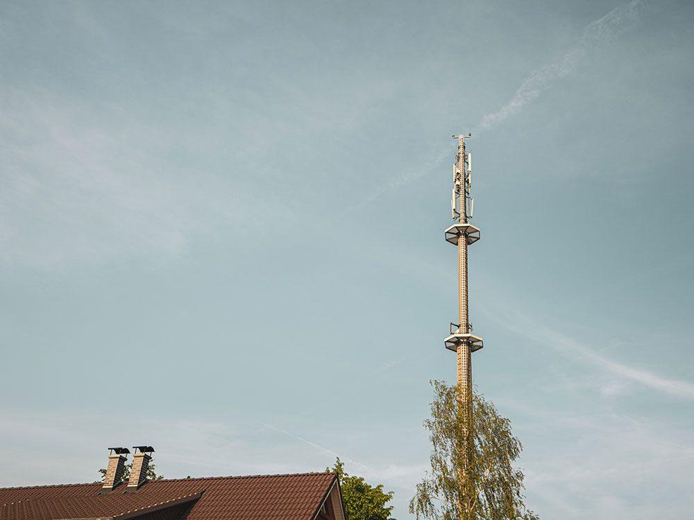 Vérifiez si vous capter bien le signal cellulaire avant d'acheter une maison.