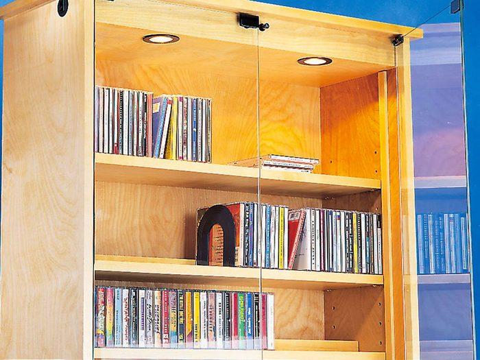 Tout le monde avait des armoires à disques compacts et à cassettes dans sa maison dans les années 1990.