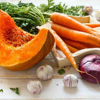 Des aliments anticancer aux couleurs d'automne