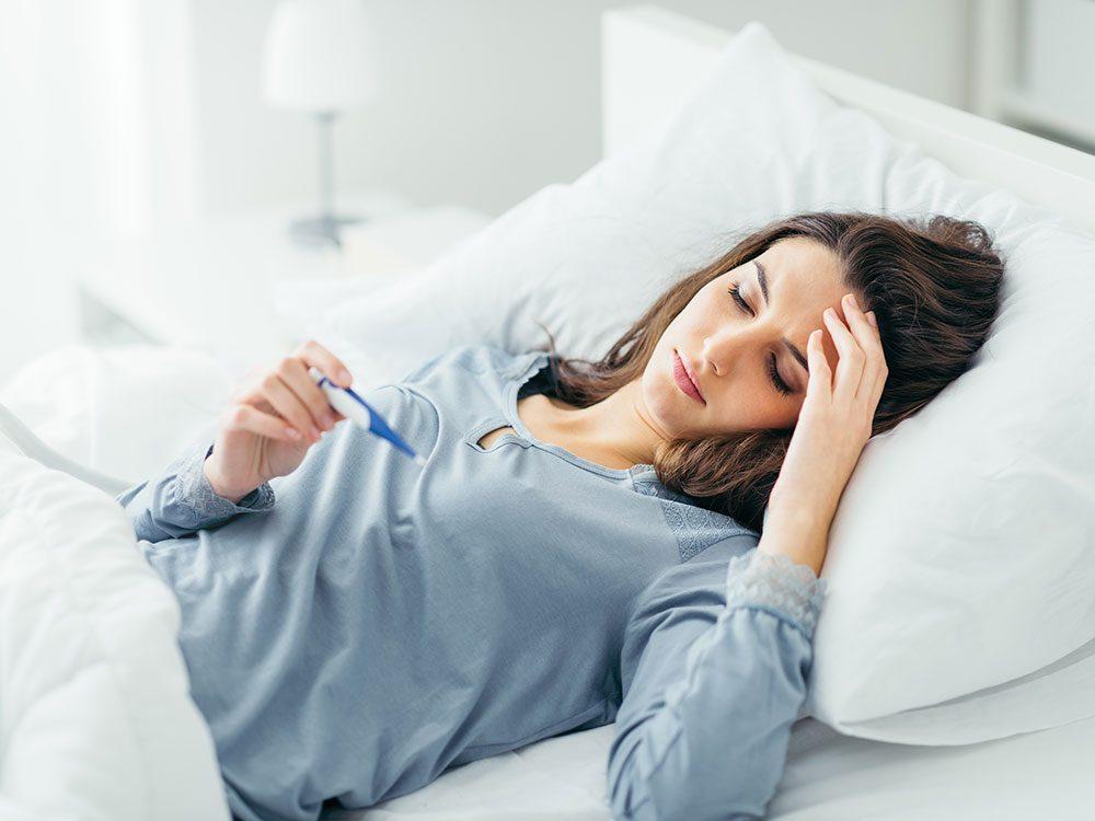 Les signes d'un cancer du sang peuvent faire penser à un rhume ou une grippe.