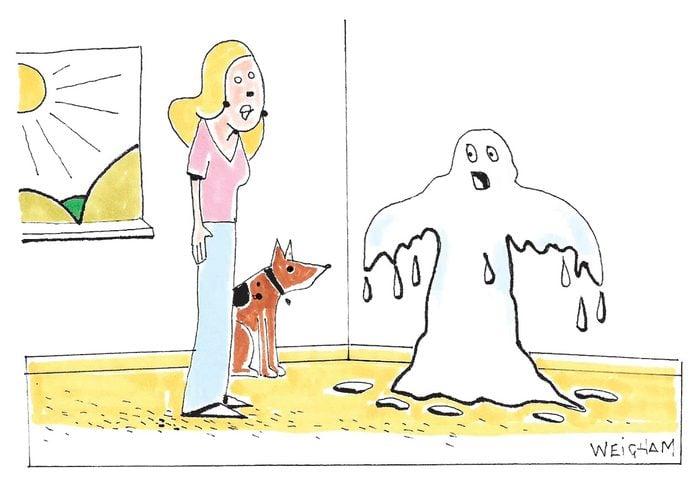 Caricature sur la protection solaire.