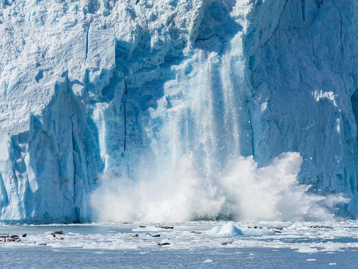La moitié des Canadiens se sentent très préoccupés par les changements climatiques.