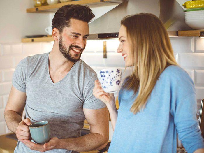 Règle qu'il est permis de briser dans un couple: il vaut mieux ventiler ses frustrations qu'accumuler la colère.