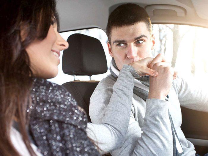 Règle qu'il est permis de briser dans un couple: il n'y a rien de mieux que les grandes manifestations d'affection.