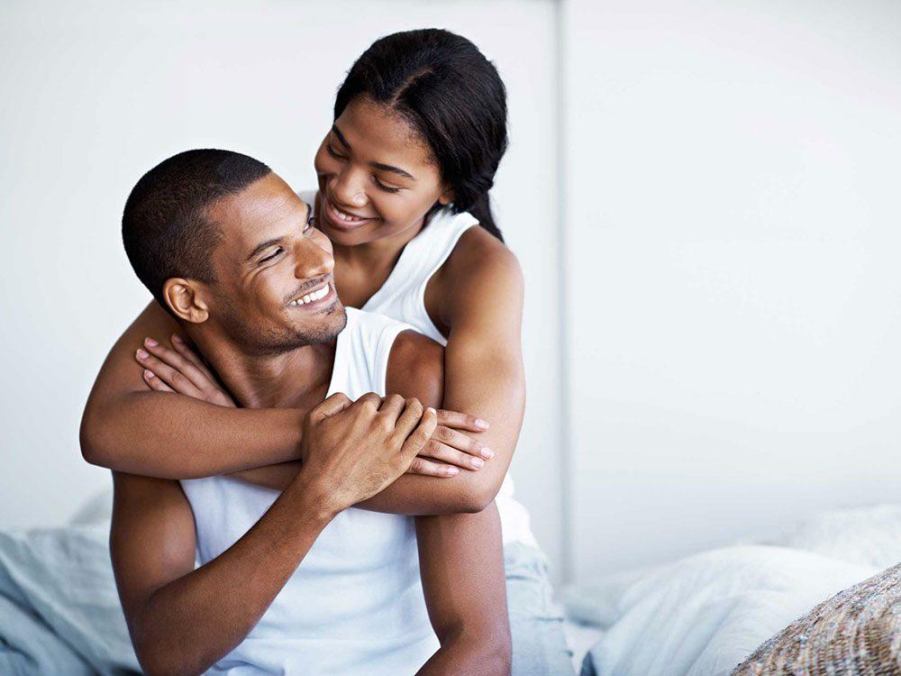 Règle qu'il est permis de briser dans un couple: la même personne prend l'initiative des relations sexuelles.