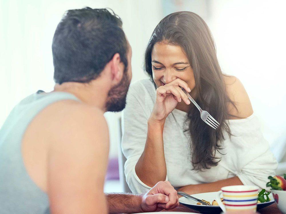 Règle qu'il est permis de briser dans un couple: ne comptez pas les coups.