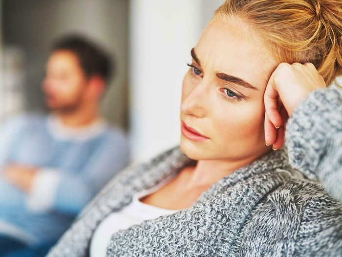 Être passif-agressif n'est pas la meilleure solution quand on est en couple.