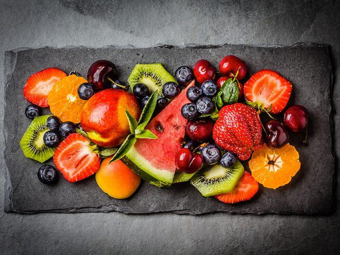 Voici les fruits et légumes à manger pour votre cure détox d'été.