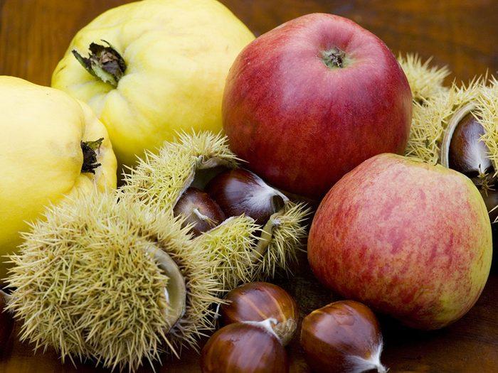 Voici des idées de fruits et légumes pour une cure détox d'hiver.