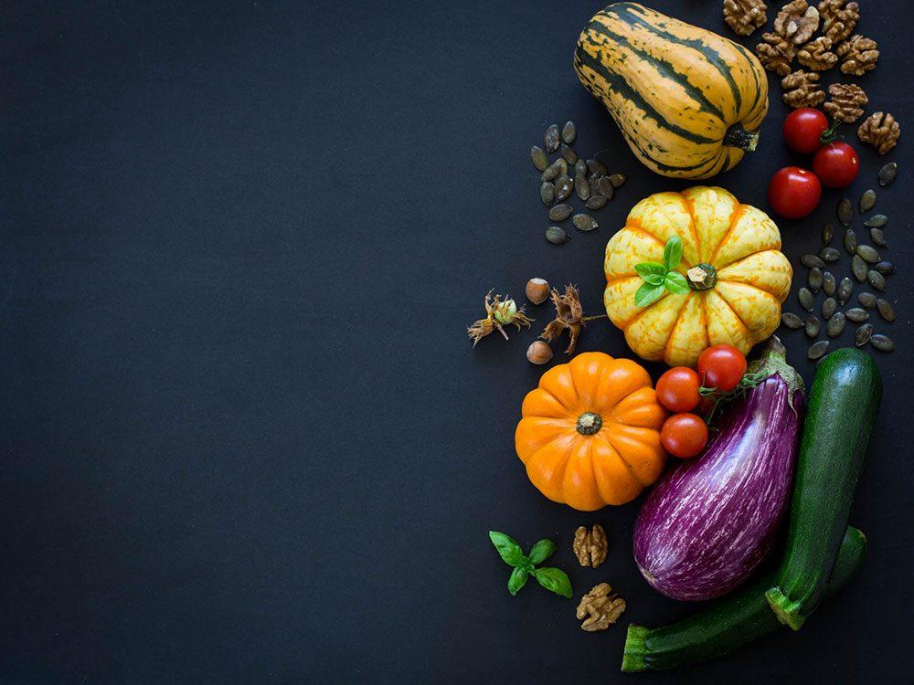 Voici des idées de fruits et légumes pour une cure détox d'automne.