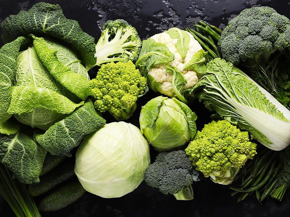 Voici des idées de fruits et légumes pour une cure détox de printemps.