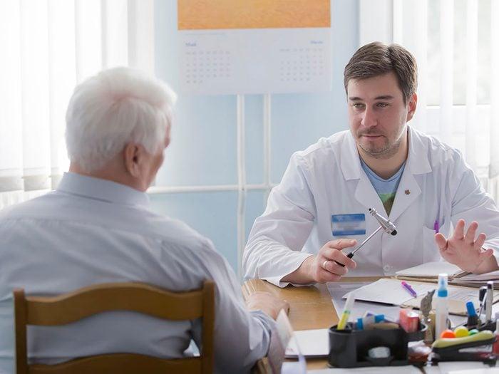 Un docteur peut parfois avoir du mal à établir un diagnostic.