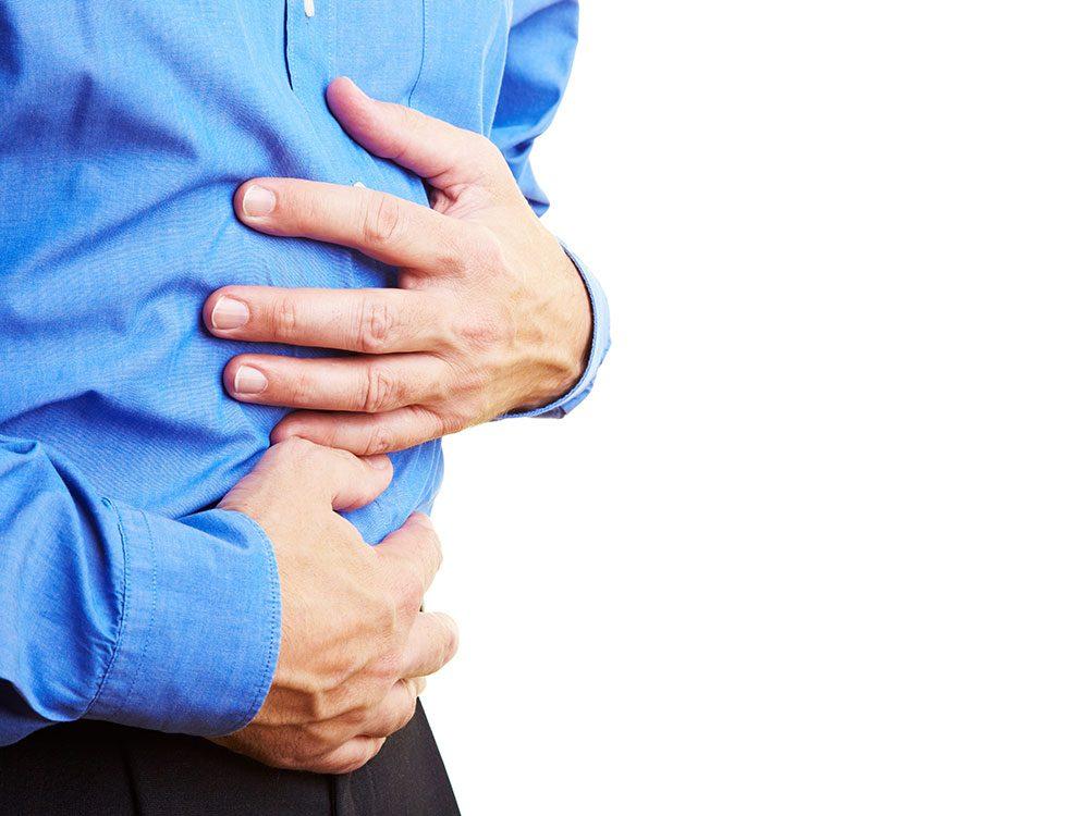 Consultez un docteur pour des nausées ou autre symptômes suite à une intervention.