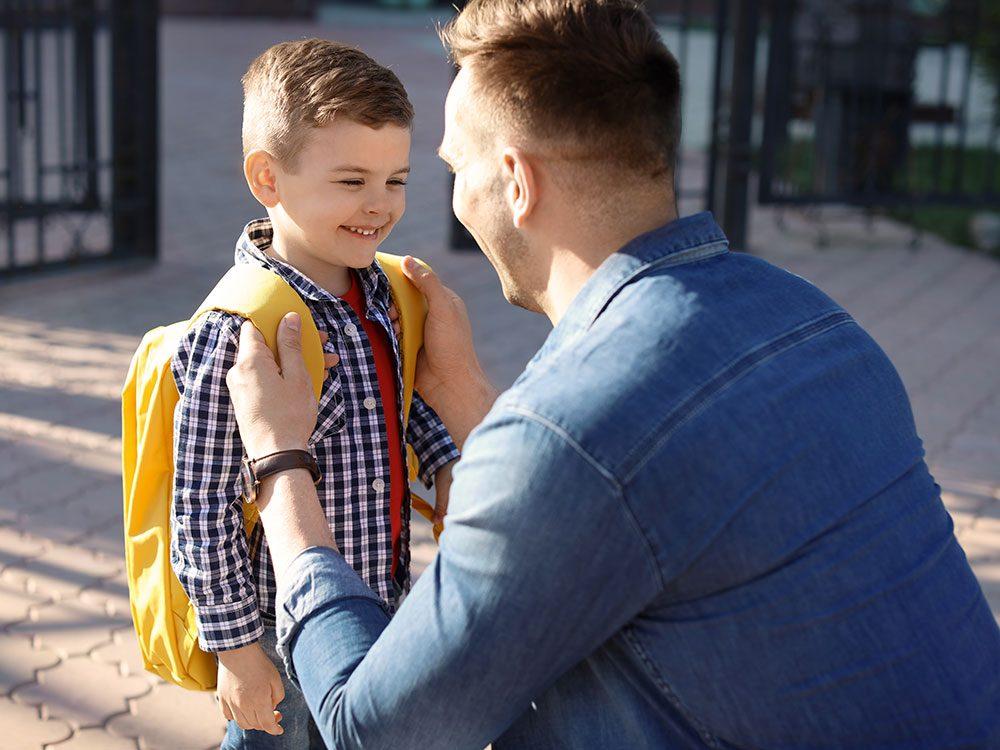 Écoutez votre enfant avant de parler.