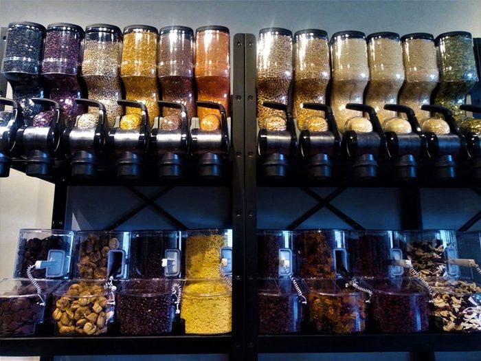 BioVrac une épicerie zéro déchet.