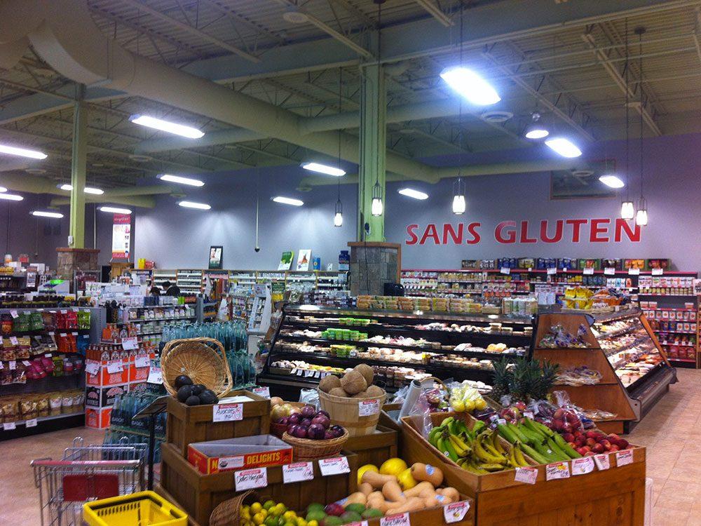 La boîte à grains à Gatineau est une épicerie zéro déchet.