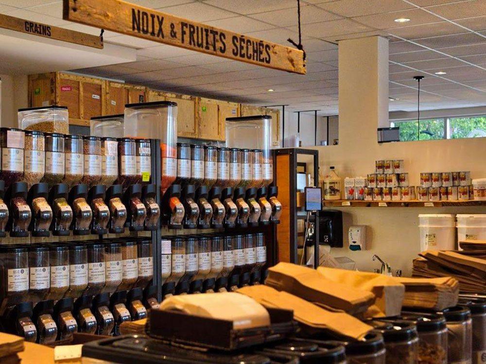 Le Silo à Sherbrooke, est une épicerie zéro déchet.